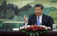 Chinese President Xi Jinping Meets With Former UN Secretary-General Ban Ki-moon