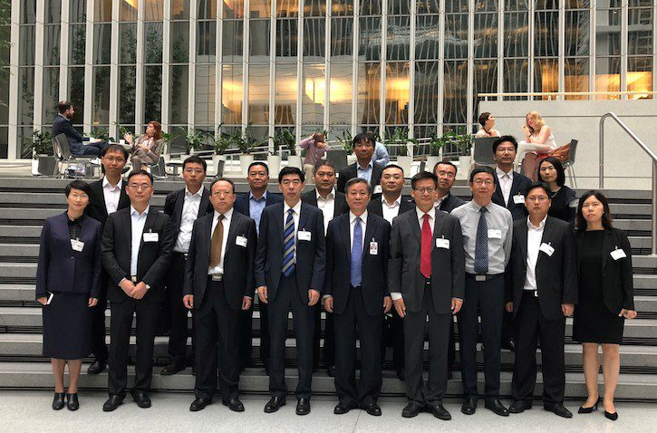 Group Photo at World Bank Web