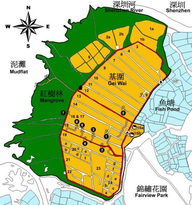 米铺自然保护区示意图(WWF)