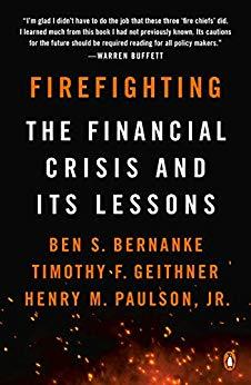 《救火:金融危机及其教训》 book cover